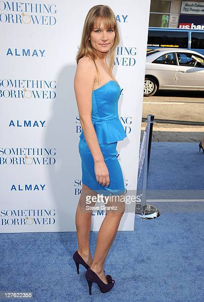 Kym Jackson attends the 'Something Borrowed' Los Angeles Premiere on May 3 2011 in Hollywood California