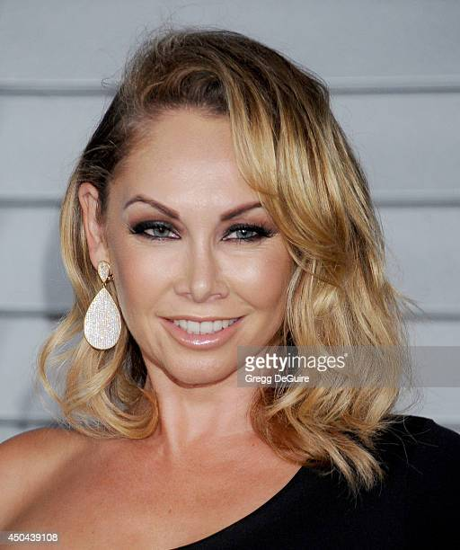 Kym Johnson arrives at the MAXIM Hot 100 celebration event at Pacific Design Center on June 10 2014 in West Hollywood California