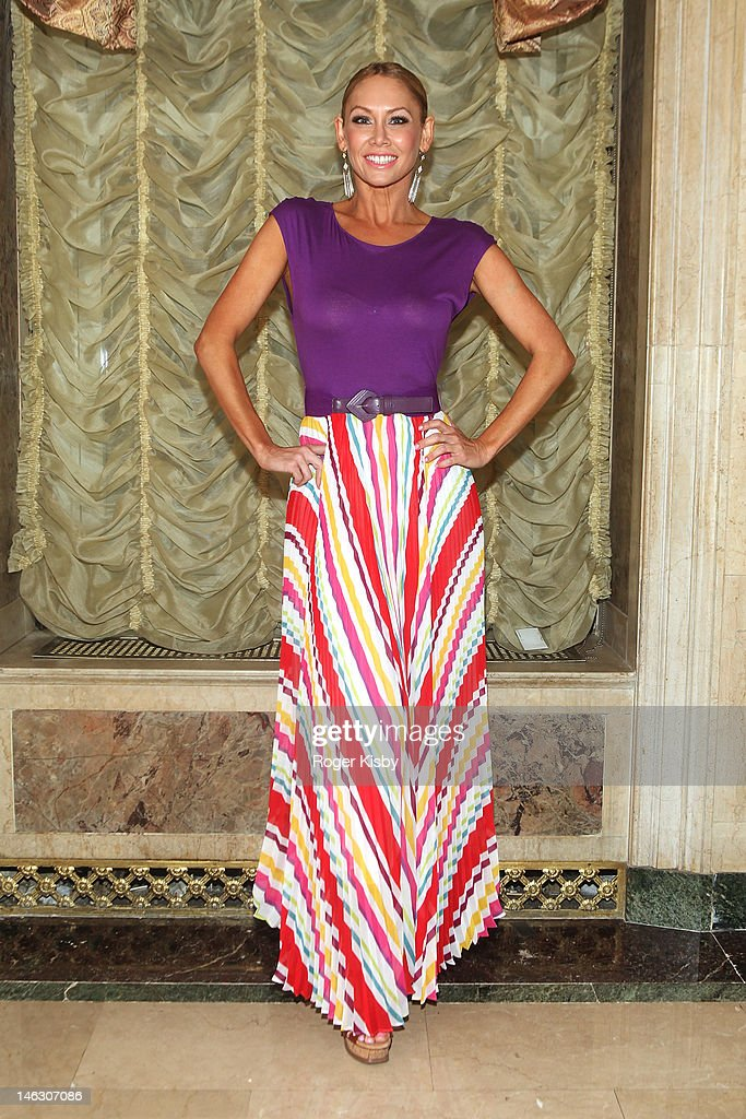 Kym Johnson attend the 2012 New York Red Cross Ball at The Plaza Hotel on June 13, 2012 in New York City.