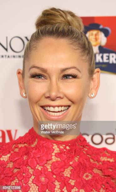 Kym Johnson attends the 14th Annual Red Dress Awards presented by Woman's Day Magazine at Jazz at Lincoln Center Appel Room on February 7 2017 in New...