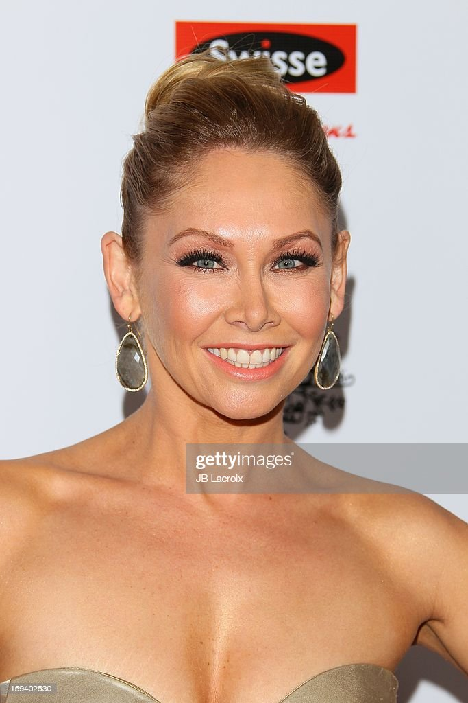 Kym Johnson attends the 2013 G'Day USA Black Tie Gala at JW Marriott Los Angeles at L.A. LIVE on January 12, 2013 in Los Angeles, California.