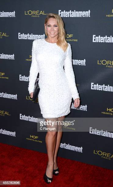 Kym Johnson attends the 2014 Entertainment Weekly PreEmmy Party at Fig Olive Melrose Place on August 23 2014 in West Hollywood California
