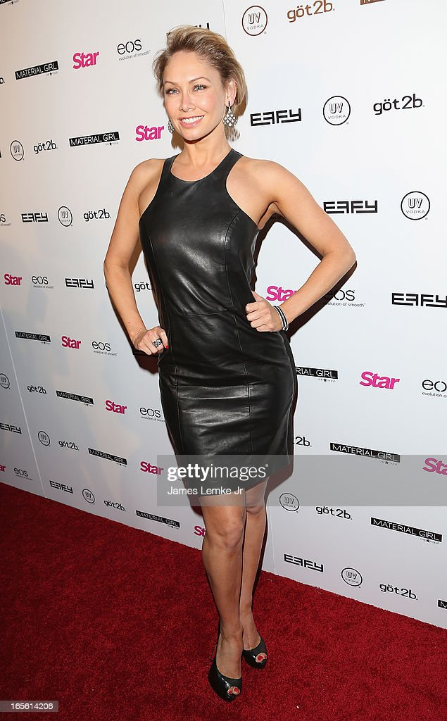 Kym Johnson attends the Star Magazine's 'Hollywood Rocks' Party held at the Playhouse Hollywood on April 4, 2013 in Los Angeles, California.