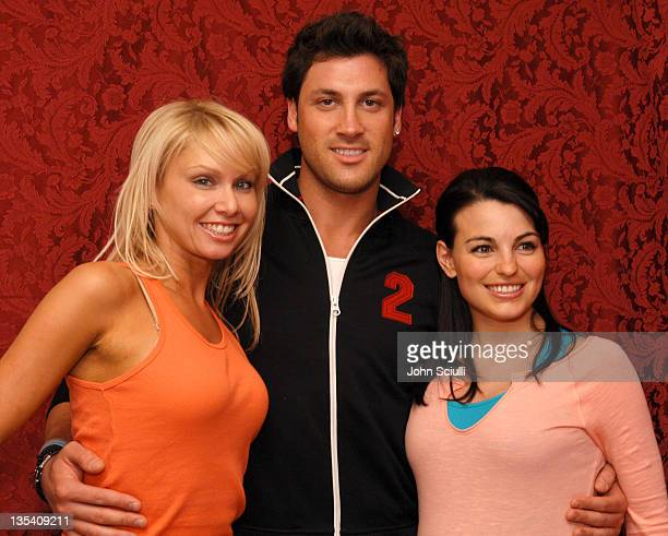 Kym Johnson Maksim Chmerkovskiy and Ashly Costa Delgrosso
