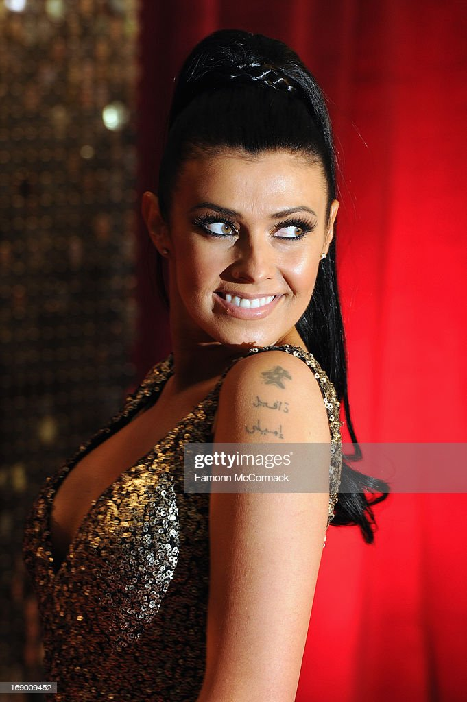 Kym Lomas attends the British Soap Awards at Media City on May 18, 2013 in Manchester, England.