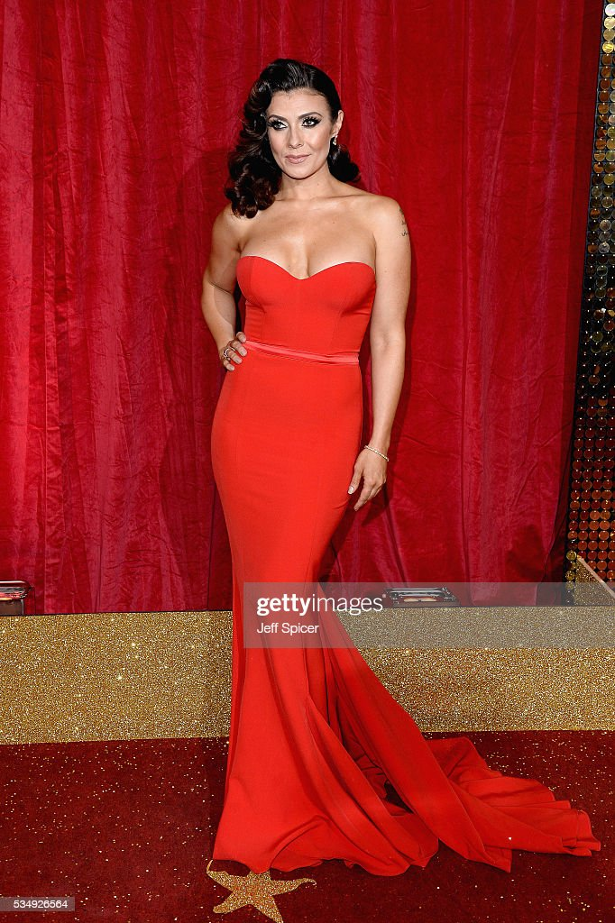 <a gi-track='captionPersonalityLinkClicked' href=/galleries/search?phrase=Kym+Marsh&family=editorial&specificpeople=4254440 ng-click='$event.stopPropagation()'>Kym Marsh</a> attends the British Soap Awards 2016 at Hackney Empire on May 28, 2016 in London, England.
