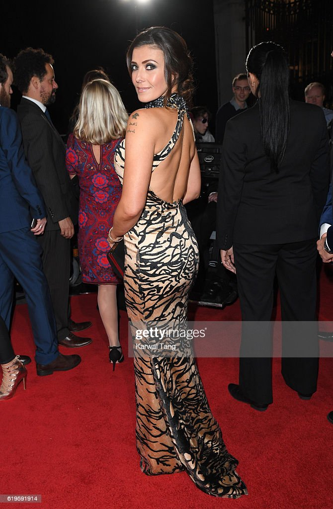 Kym Marsh attends the Pride Of Britain Awards at The Grosvenor House Hotel on October 31, 2016 in London, England.