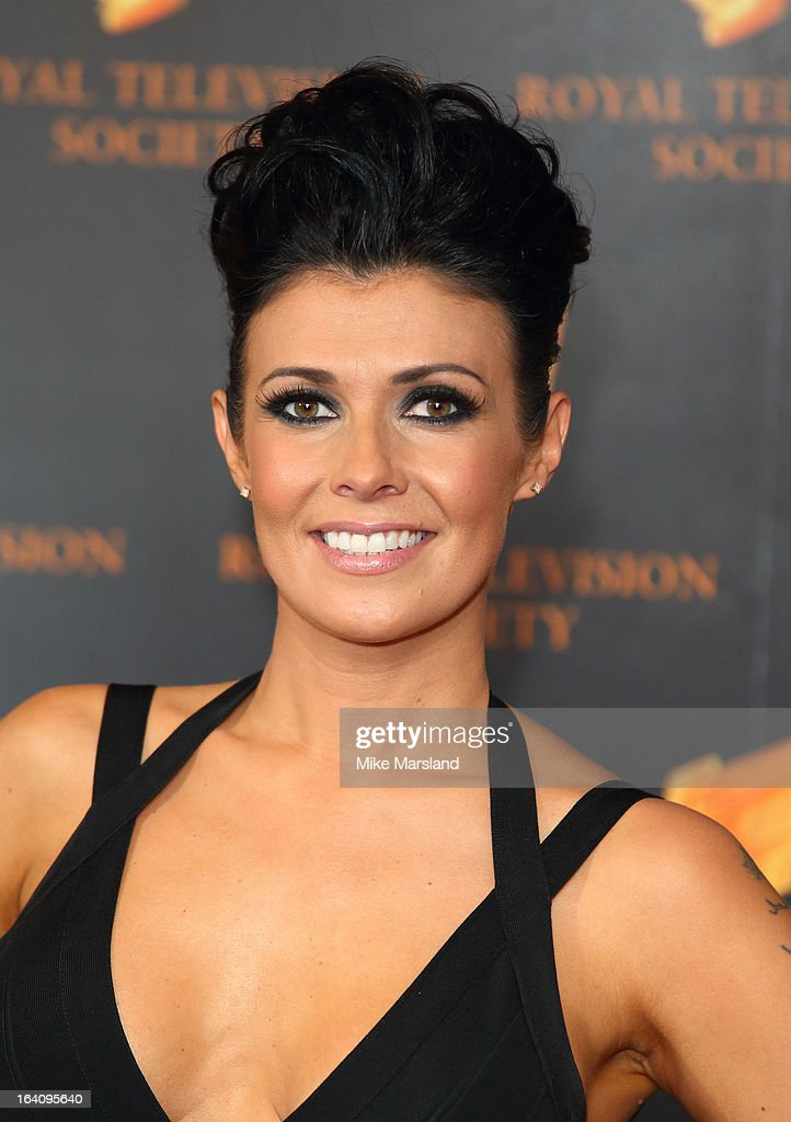 Kym Marsh attends the RTS Programme Awards at Grosvenor House, on March 19, 2013 in London, England.