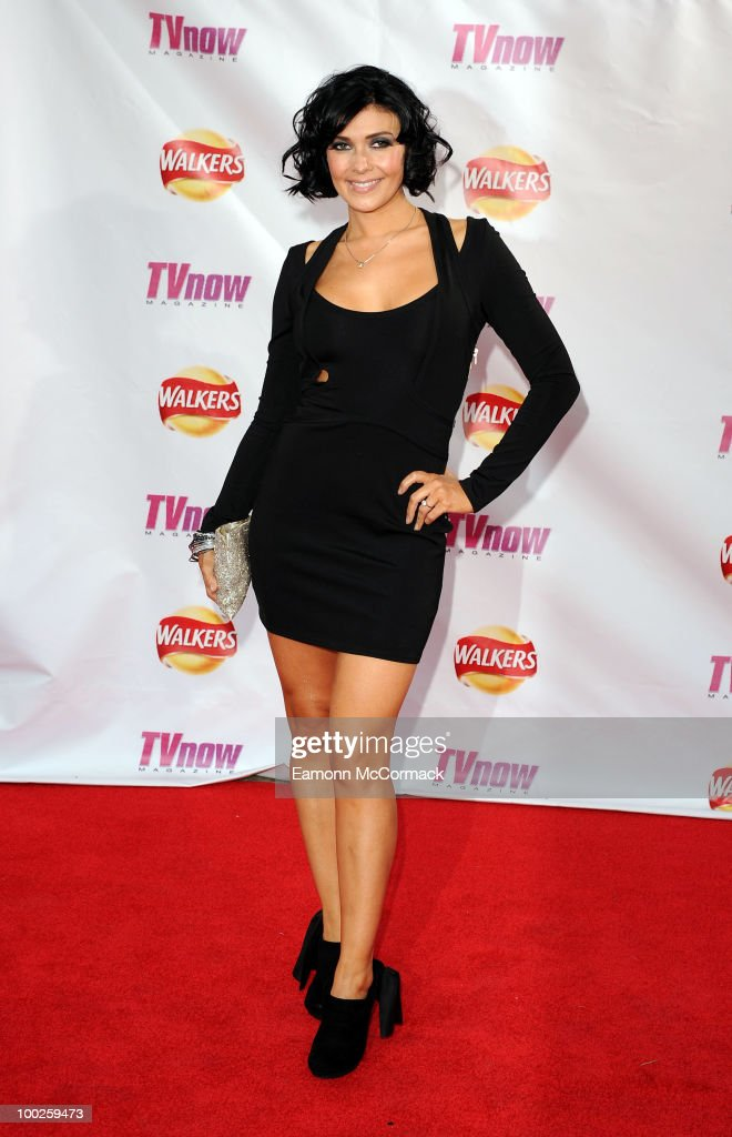 Kym Marsh attends the TV Now Awards on May 22, 2010 in Dublin, Ireland.