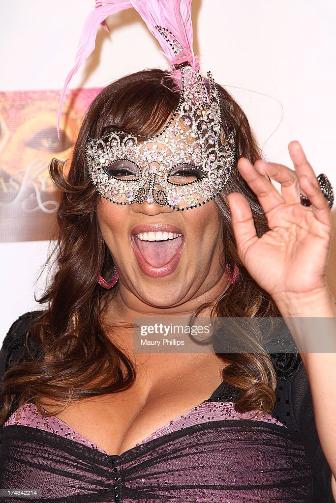 <a gi-track='captionPersonalityLinkClicked' href=/galleries/search?phrase=Kym+Whitley&family=editorial&specificpeople=242929 ng-click='$event.stopPropagation()'>Kym Whitley</a> arrives at <a gi-track='captionPersonalityLinkClicked' href=/galleries/search?phrase=Kym+Whitley&family=editorial&specificpeople=242929 ng-click='$event.stopPropagation()'>Kym Whitley</a>'s 40th Birthday Celebration at Rain Nightclub on July 23, 2013 in Studio City, California.