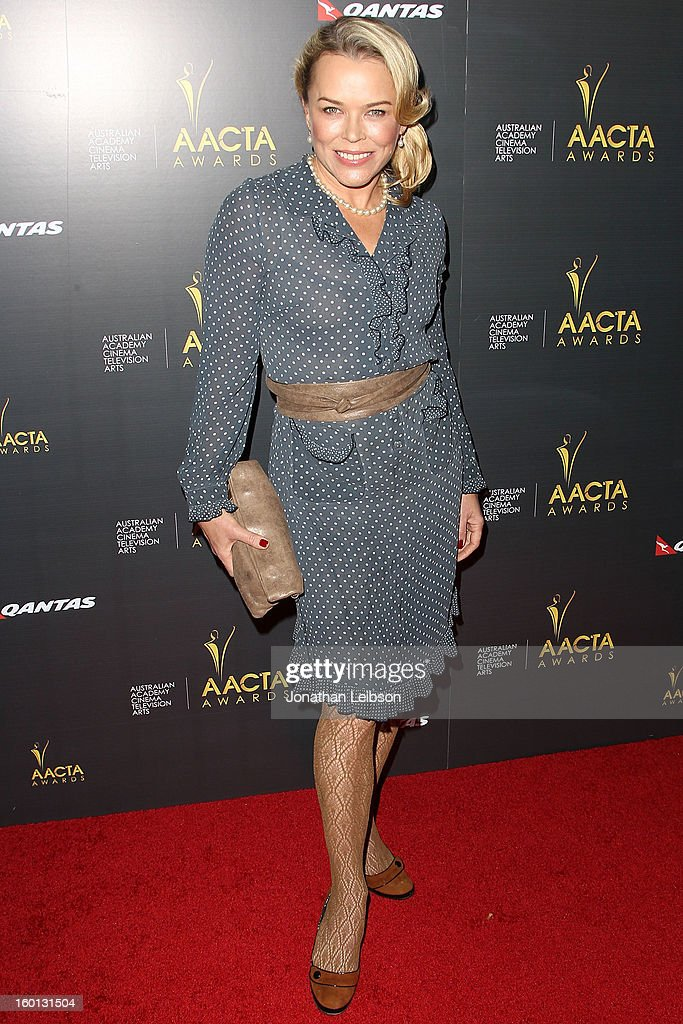 Kym Wilson attends the 2nd AACTA International Awards at Soho House on January 26, 2013 in West Hollywood, California.
