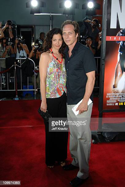 Kymberly Kalil Fichtner and William Fichtner during The Longest Yard Los Angeles Premiere Arrivals at Grauman's Chinese Theater in Hollywood...