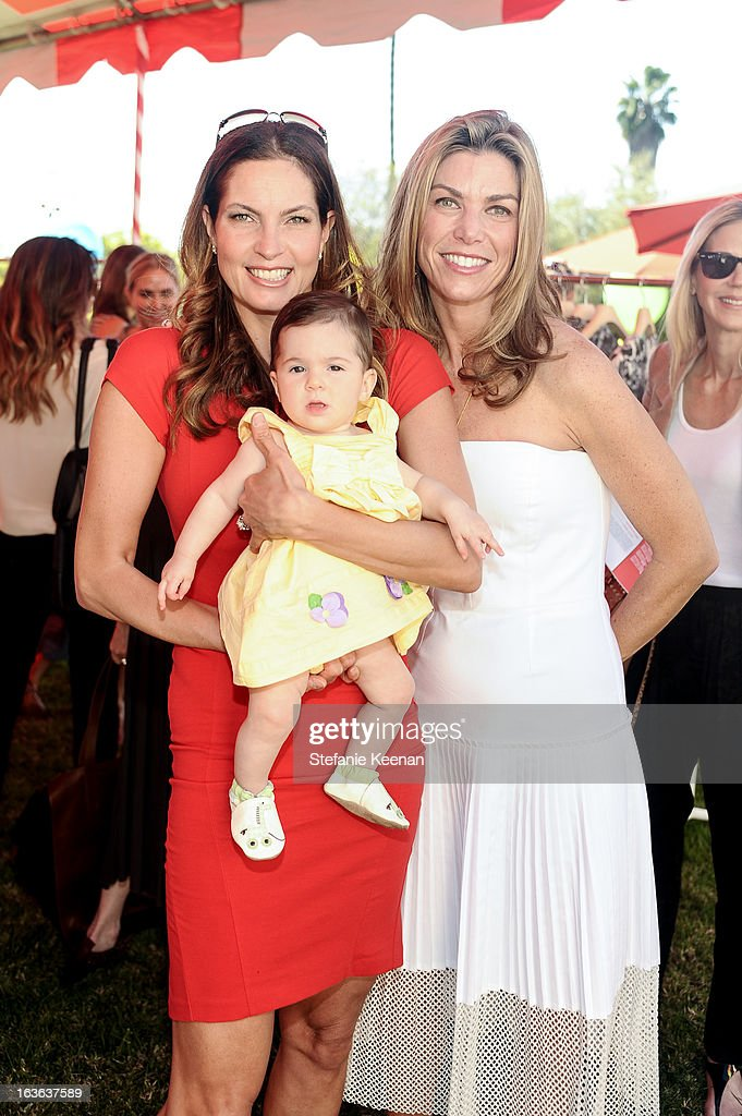 Kymberly Marciano and Alison Petrocelli attend HEART/Stella McCartney Brunch on March 13, 2013 in Beverly Hills, California.