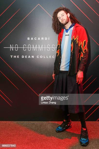 Kynan Puru Watt attends The Dean Collection X Bacardi No Commission event on April 9 2017 in Shanghai China