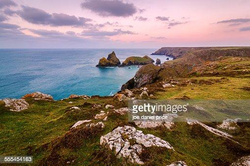 Kynance Cove, Lizard, Cornwall, England