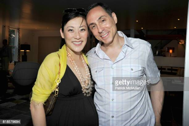 Kyong Coleman and Brad Coleman attend GODS LOVE WE DELIVERMid Summer Night Drinks Benefit at Home of Chad A Leat on June 19 2010 in Bridgehampton New...