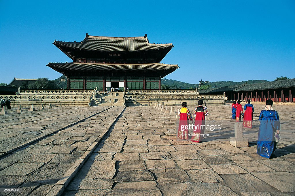 Kyongbokkung Palace, Seoul, South Korea : Stock Photo