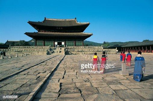 Kyongbokkung Palace, Seoul, South Korea : Stock Photo