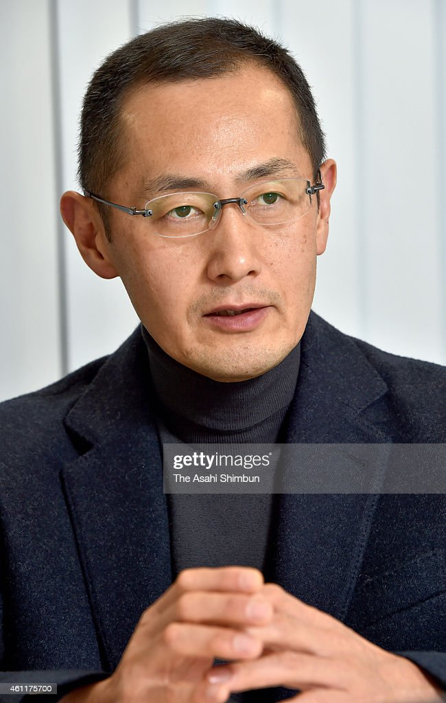 Kyoto University professor and 2012 Nobel Prize in Medicine laureate <a gi-track='captionPersonalityLinkClicked' href=/galleries/search?phrase=Shinya+Yamanaka&family=editorial&specificpeople=4810477 ng-click='$event.stopPropagation()'>Shinya Yamanaka</a> speaks during the Asahi Shimbun interview on December 22, 2014 in Kyoto, Japan.