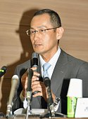 Kyoto University professor Shinya Yamanaka cowinner of the 2012 Nobel Prize in Medicine for his development of induced pluripotent stem cells speaks...