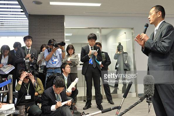 Kyoto University Professor Shinya Yamanaka explains during the press preview of the Center for iPS Cell Research and Application on May 8 2010 in...