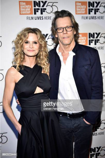 Kyra Sedgwick and Kevin Bacon attend a special screening of 'Joan Didion The Center Will Not Hold' during the 55th New York Film Festival at Alice...