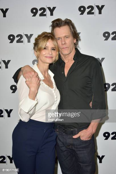 Kyra Sedgwick and Kevin Bacon attend the 92nd Street Y Presents Kevin Bacon and Kyra Sedgwick In Conversation event at 92nd Street Y on July 19 2017...
