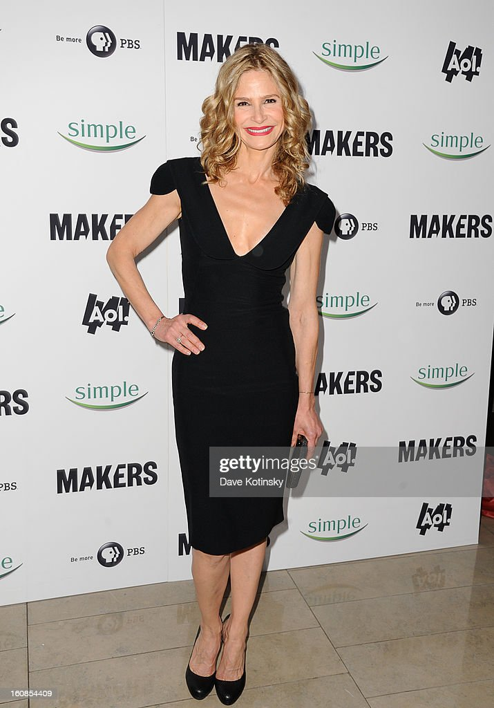 Kyra Sedgwick arrives at 'MAKERS: Women Who Make America' New York Premiere at Alice Tully Hall on February 6, 2013 in New York City.