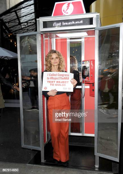 Kyra Sedgwick attends #RejectTheNRA Campaign Launch the at The Standard High Line on October 18 2017 in New York City