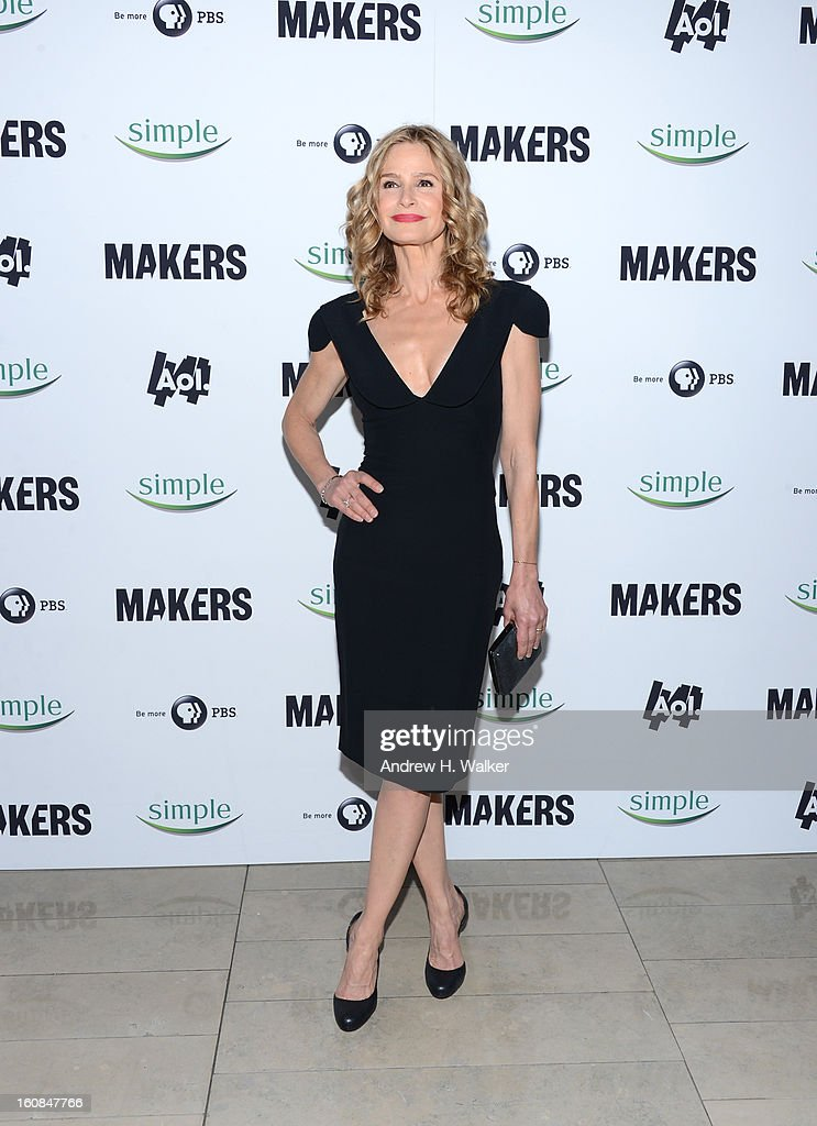 Kyra Sedgwick attends the red carpet premiere of