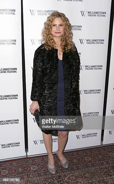 Kyra Sedgwick attends the Williamstown Theatre Festival 2015 Annual Benefit at the City Winery on February 9 2015 in New York City