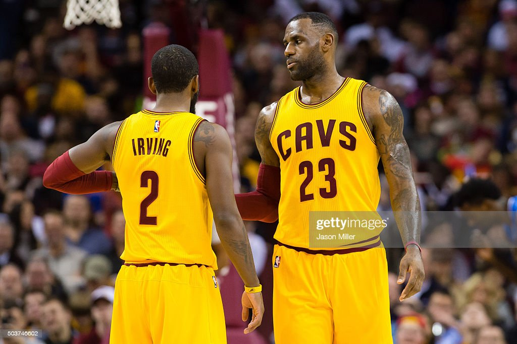 Details info of the Kyrie Irving Vs Lebron James