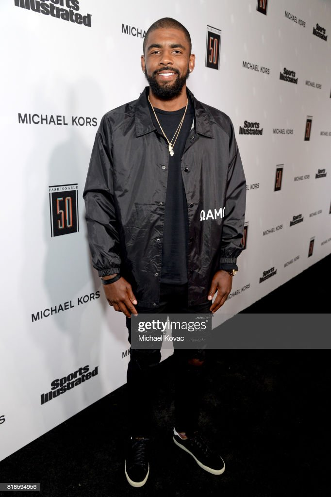Kyrie Irving at Sports Illustrated 2017 Fashionable 50 Celebration at Avenue on July 18, 2017 in Los Angeles, California.