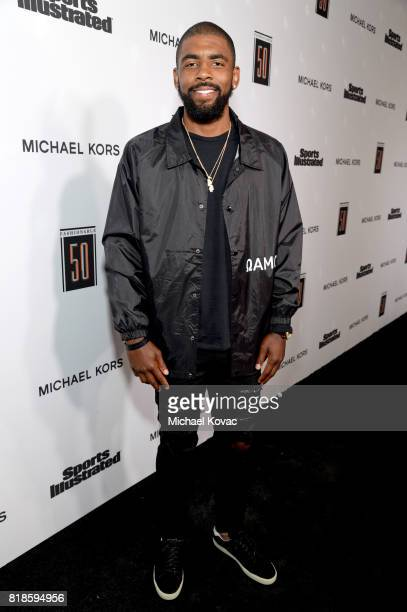Kyrie Irving at Sports Illustrated 2017 Fashionable 50 Celebration at Avenue on July 18 2017 in Los Angeles California