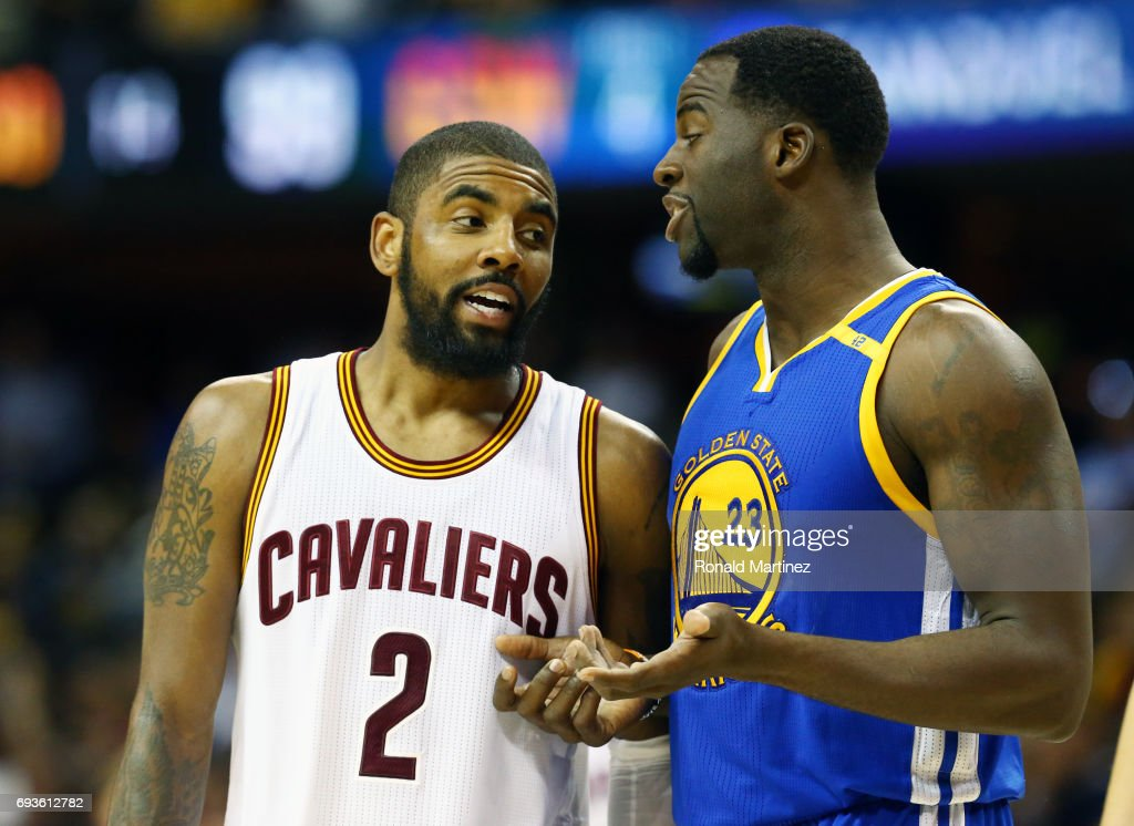 When asked, Golden State Warrior Draymond Green didn't deny Irving's flat earth comments, saying, 'I don't know, I haven't done enough research but it may be flat.' He also said 'I'm not saying I think it's flat or round. I don't know but it could be.'