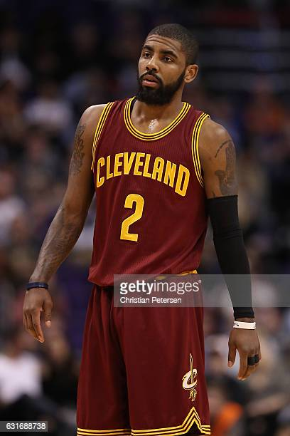 Kyrie Irving of the Cleveland Cavaliers during the second half of the NBA game against the Phoenix Suns at Talking Stick Resort Arena on January 8...