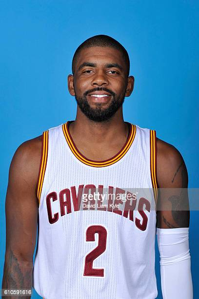 Kyrie Irving of the Cleveland Cavaliers poses for a headshot during the Cavaliers 20162017 Media Day at The Cleveland Clinic Courts on September 26...