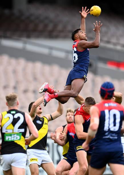 AUS: AFL Rd 5 - Melbourne v Richmond