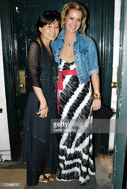 Kyung Lee owner and Victoria Traina during Kyung Lee Celebrates the Openings of her Stores Claudine and Albertine at Claudine and Albertine in New...