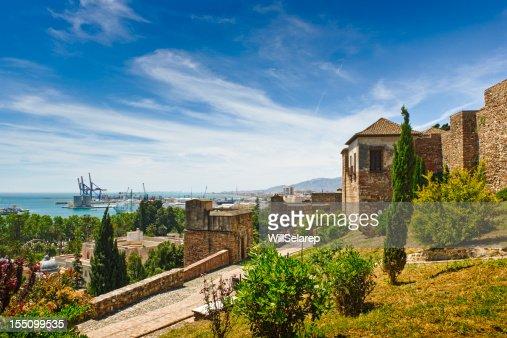 La Alcazaba, Malaga city, Spain