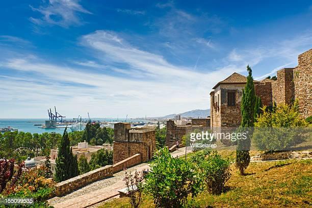 La Alcazaba, Malaga, en Espagne
