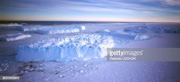 La banquise en 1995 en Antarctique
