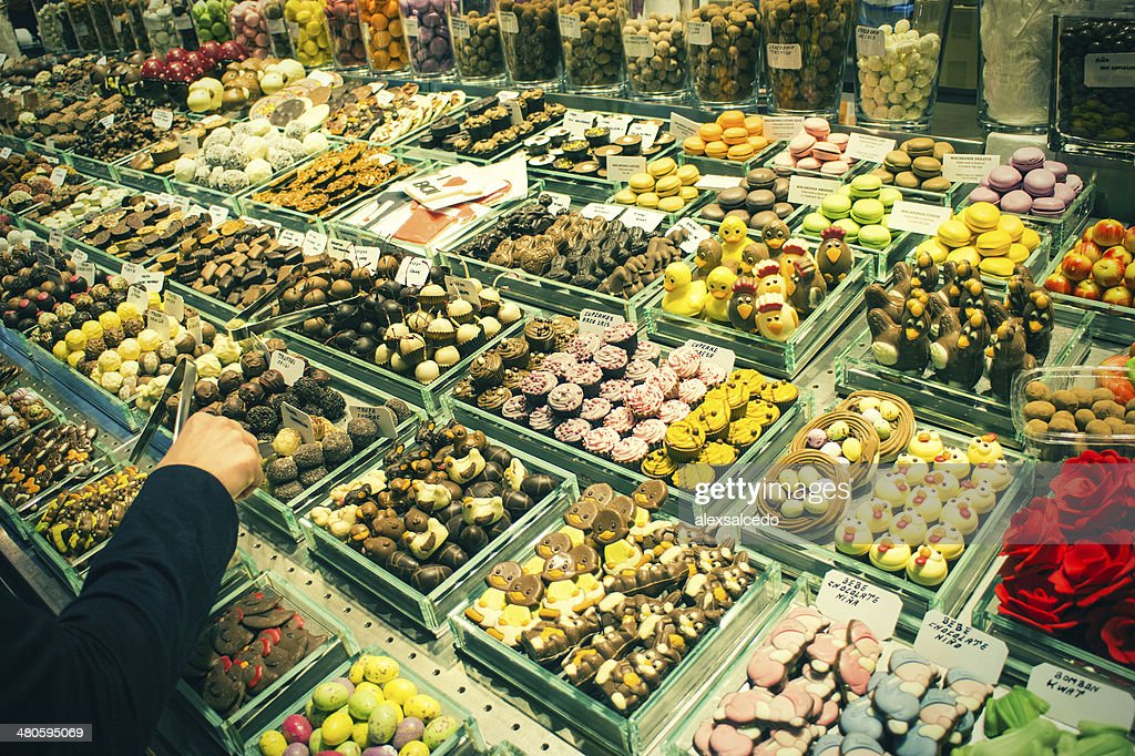 La Boqueria : Stock Photo