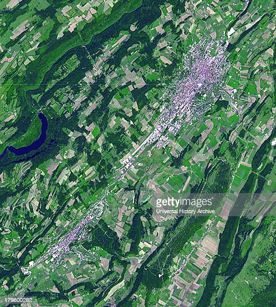 La ChauxdeFonds is a Swiss city in the Jura Mountains founded in 1656 July 15 2007