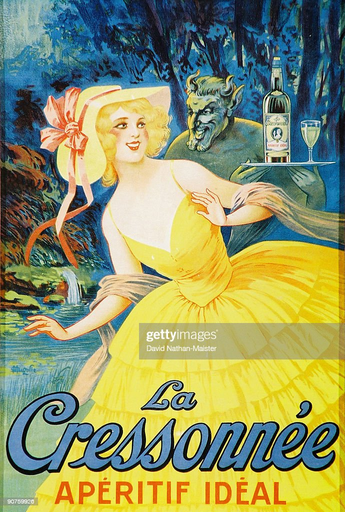 La Cressonnee was a popular absinthe brand additionally flavoured with watercress After the 1915 ban they produced a watercressflavoured anise