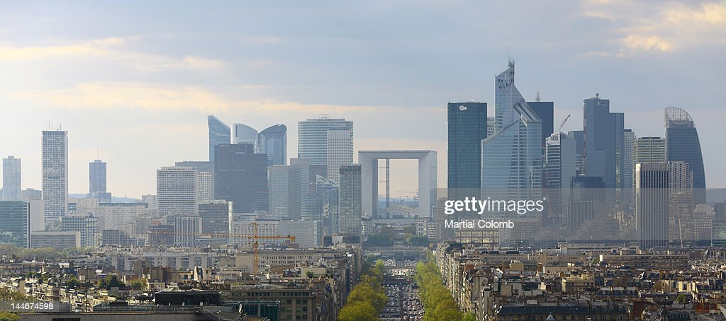 La Defense and Paris