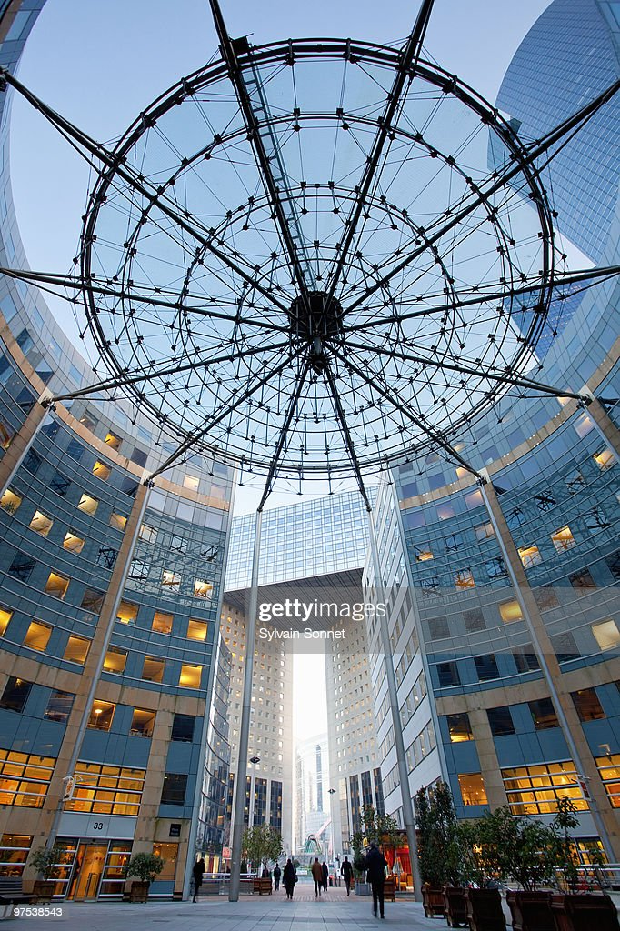La defense, Business district, Paris, France : Stock Photo