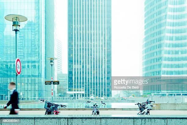 La Défense, Paris, en France.  Immeubles de bureaux