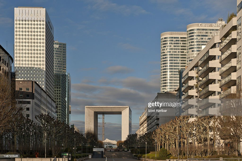 La Defense. : Stock Photo