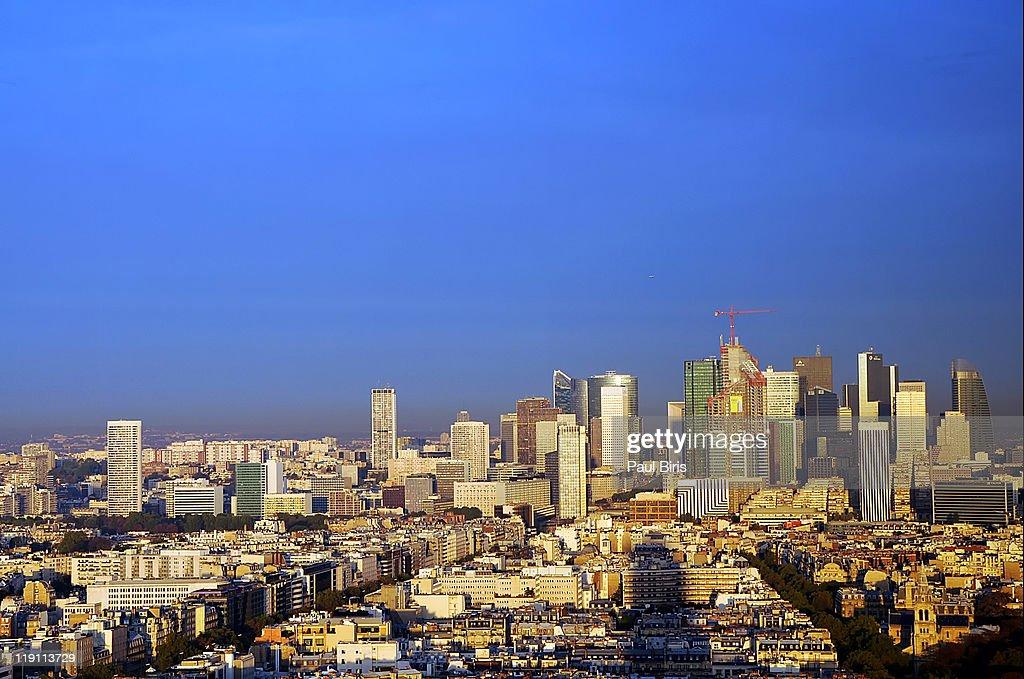 La Défense is major business district : Stock Photo